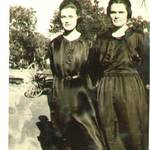 Minnie Ragle Canon and Irene Ragle Collier